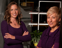 Teri Petrzalek and Shanna Duggan - Morning Star Studio, Cedar Rapids, Iowa Architecture, Interior Design, Structural Engineering